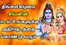 அதிர்ஷ்டம் தரும் சிவன் பாடல்கள் | Lord Shivan Padalgal | Best Shivan Tamil Devotional Songs