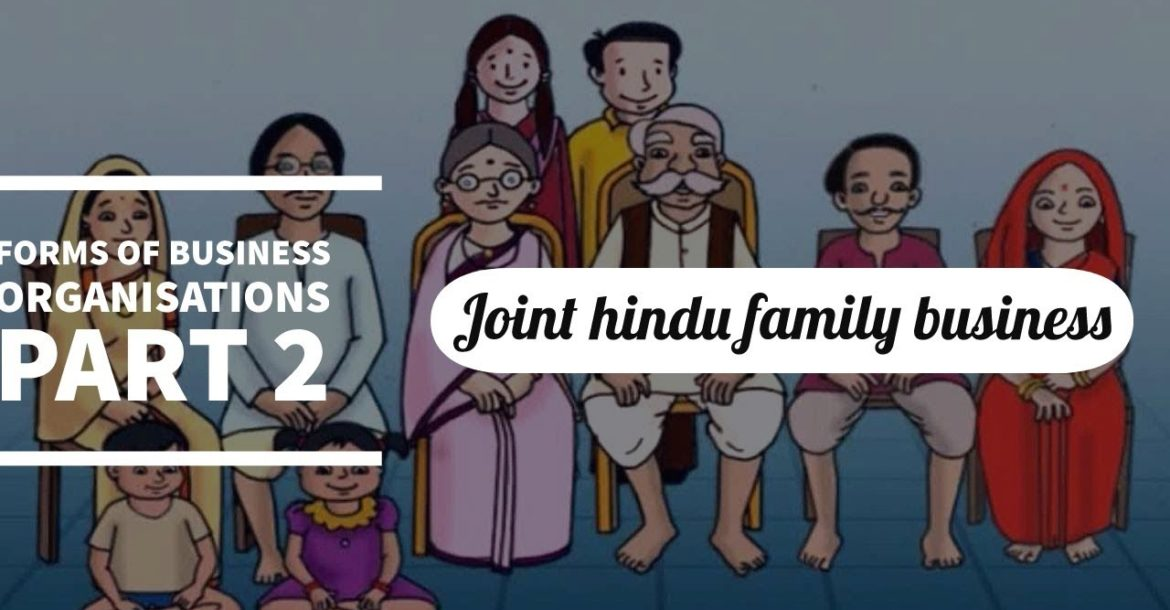 #8, Joint Hindu family business | Forms of business organization | business studies | class 11 |