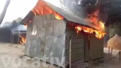 A Mob Of Bangladeshi Muslims Burned Down 30 Homes Of Hindu Villagers