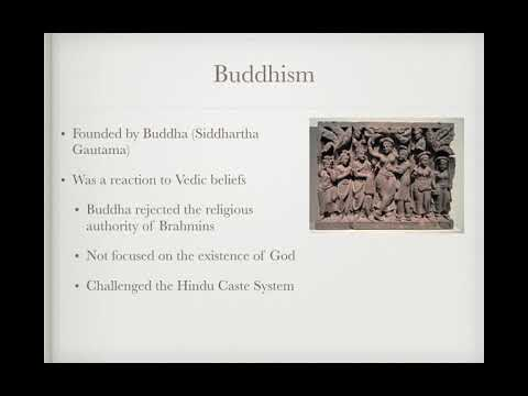 AP World Review: Video #9: Hinduism and Buddhism