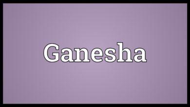 Ganesha Meaning