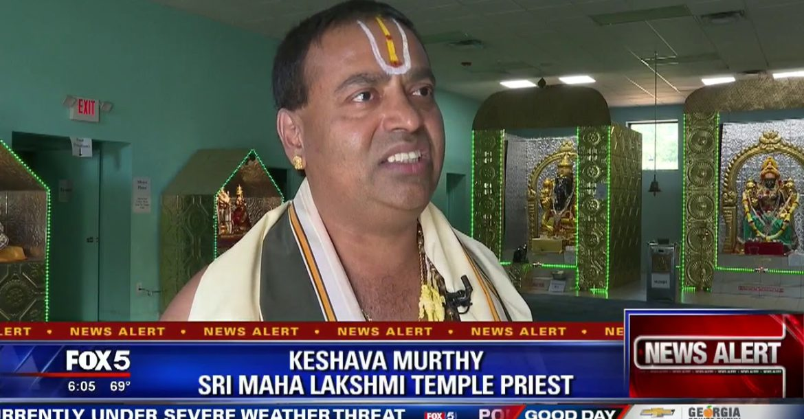 Gold stolen from Hindu temple