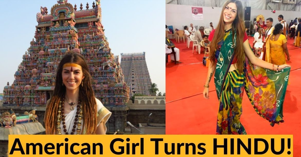 HOW I BECAME HINDU || Christian American Girl Visits India & Leaves a Practicing Hindu