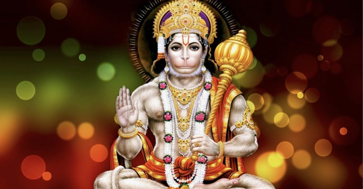 Hanuman: Hindu God of Wrestling