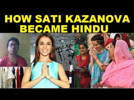 How Russian Pop Singer Sati Kazanova adopted Hinduism & Why She Left Show Business