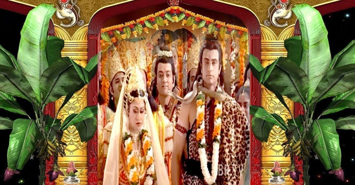 Marriage Of Lord Shiva And Parvati    BR Chopra Superhit Hindi Serial   