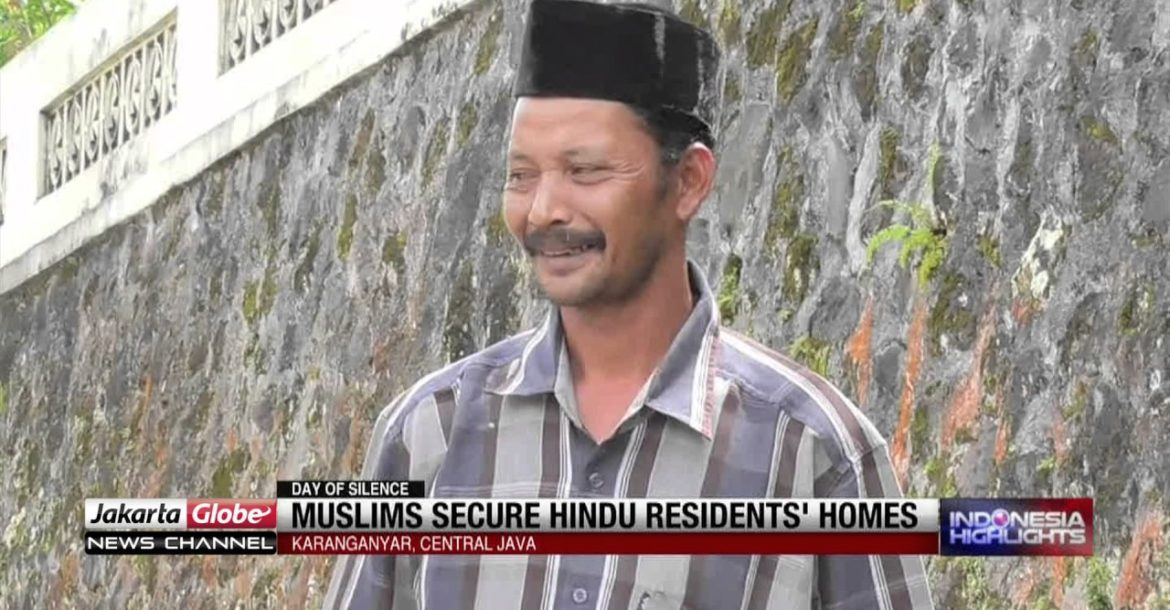 Muslim Secure Hindu Residents' Homes During Day Of Silence