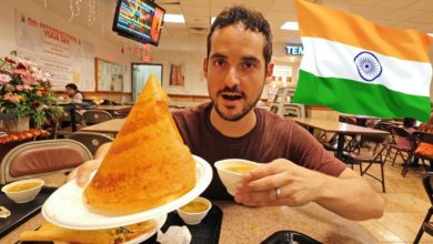 NYC's Best Indian Food Is Hidden Inside a Hindu Temple in Queens ? 😱 (Where To Eat in NYC)