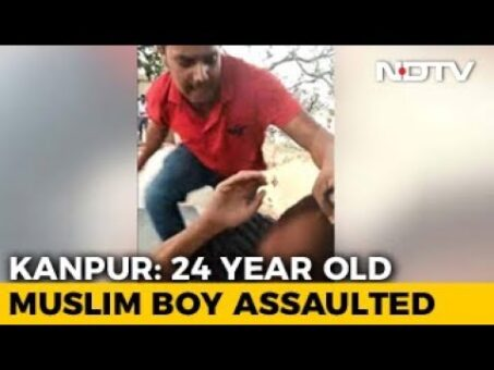 On Camera, Muslim Man Assaulted For Being Friends With Hindu Woman In UP