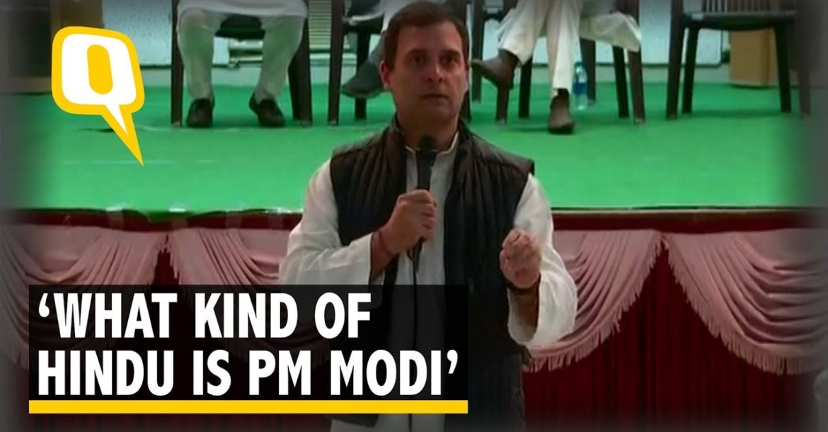 PM Modi Doesn't Know The Basic Concepts of Hinduism: Rahul Gandhi | The Quint