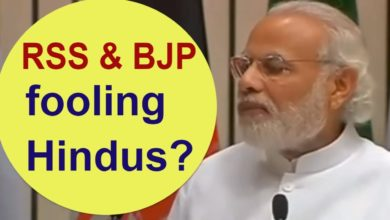 RSS & BJP is really Hindu Organization ?