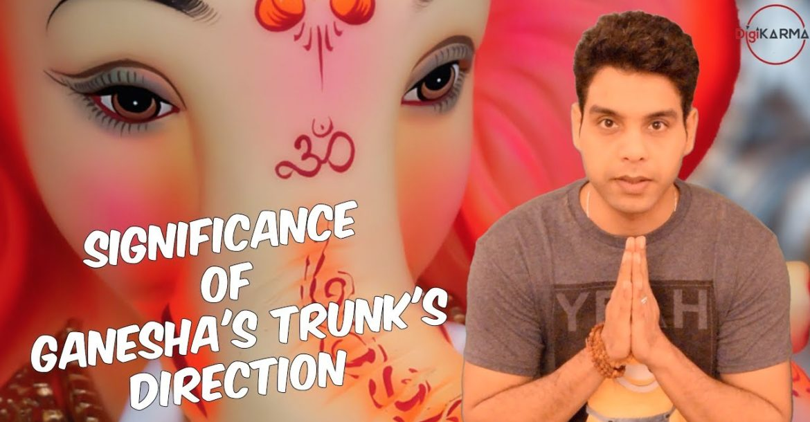 Significance Of Ganesha's Trunk's Direction | DigiKarma