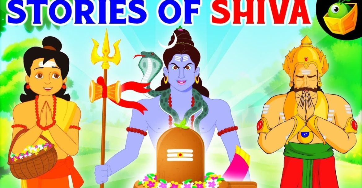 Tales of Lord Shiva 🔱- Animated Bedtime Stories in English for Kids -Exclusive Epic Collection