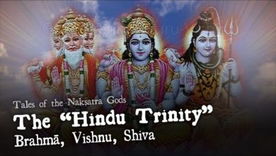 "The ""Hindu Trinity"" Brahma, Vishnu, Shiva - Tales of the Nakshatra Gods"