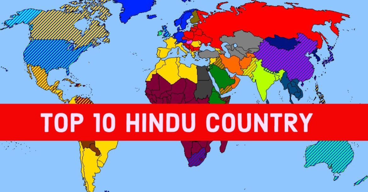 Top 10 Hindu Countries in the World