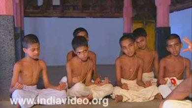 Veda, Vedic teaching, Hindu scriptures, learning, Thrissur, Kerala, India