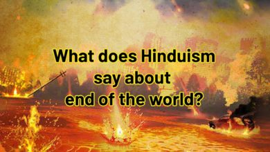 What does Hinduism say about end of the world?