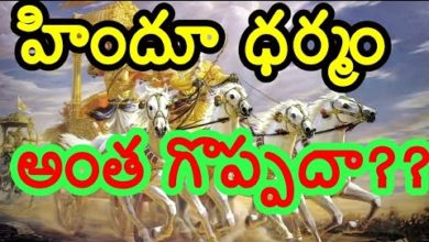 Basic Principles Of Hinduism in Telugu || Babu Gogineni ||