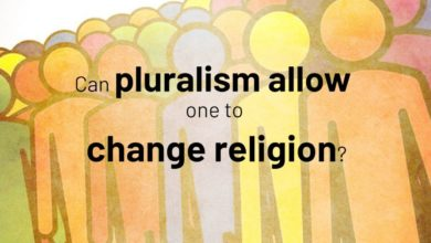 Can pluralism allow one to change religion? | Jay Lakhani | Hindu Academy