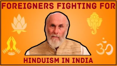 Foreigners Fighting for Hinduism in India