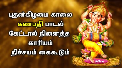 GANESHA SONGS FULFILL ALL YOUR DESIRES| Lord Ganapathi Tamil Padalgal | Best Tamil Devotional Songs