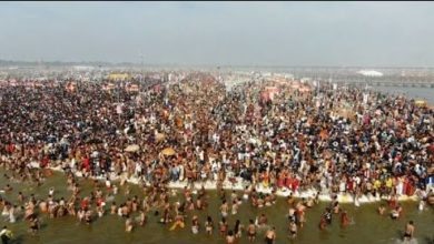 India: drone images of spectacular Hindu festival