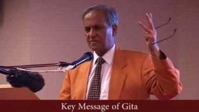 Key Message of Gita   Hindu Academy   Jay Lakhani