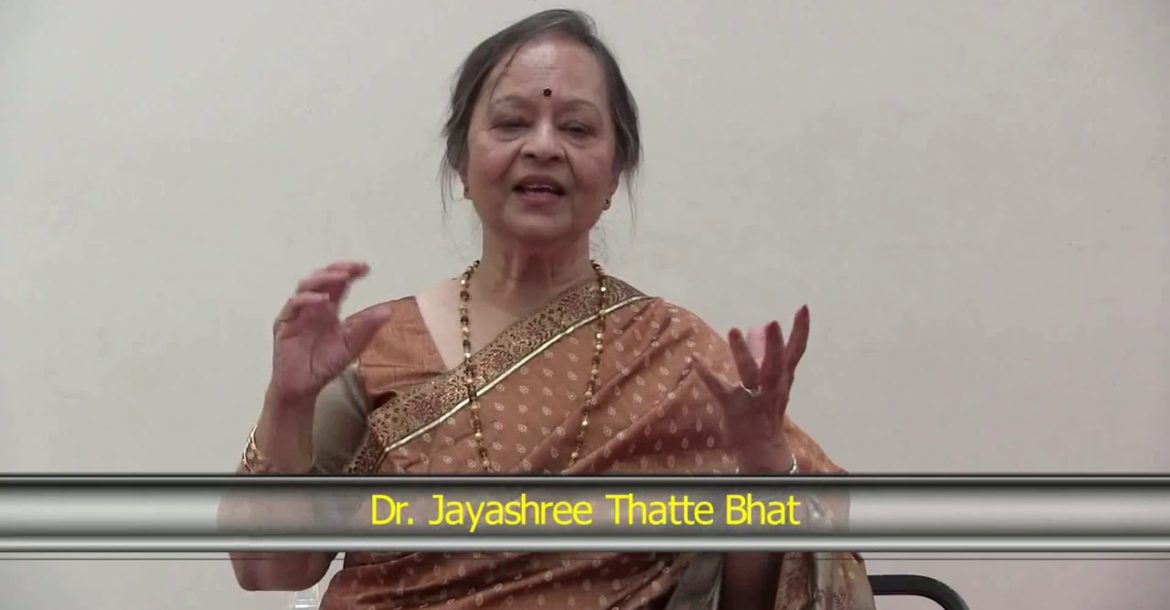 Origin and Role of Music in Hinduism by Dr. Jayashree Thatte Bhat (Part 1/2)