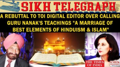Rebuttal: TOI Digital Editor calls Guru Nanak's Teachings a Syntheses of Hinduism & Islam II STIISNE