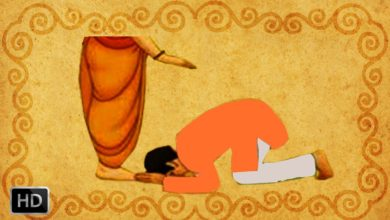 Science Behind Touching Feet In India - What does it mean when Hindus touch someone's feet