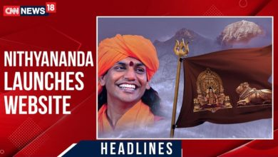 Self-Styled Godman Nithyananda Launches Website To Promote His New 'Nation'   CNN-News18
