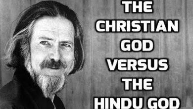 The CHRISTIAN God vs. The HINDU God | Alan Watts