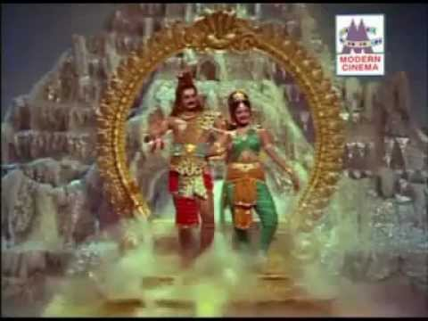 Thiruvarutchelvar (1967) -Final scene -Beautiful Dance by Shiva and Parvati !