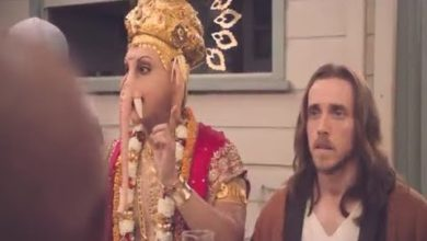 This ad showing Lord Ganesha eating lamb has sparked outrage among Hindu groups