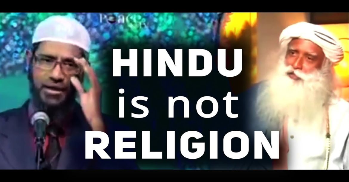 Zakir Uses Sadhguru's Logic and Contradicts himself about Hinduism😝 Funny 🤣🤣