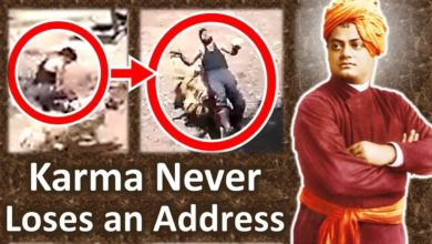 20 Seconds Real Life Incident explains Instant Karma Instant Justice - Swami Vivekananda on Karma