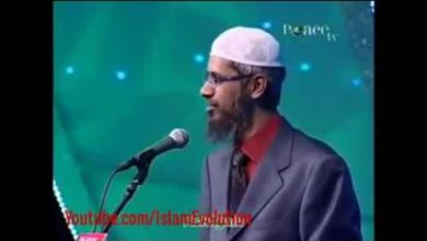 According to Vedas of Hindus. They should worship only one God. By Dr. Zakir Naik
