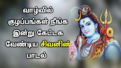 BEST LORD SIVA SONG TO FIND SOLUTION FOR ALL YOUR ISSUES | Lord Shiva Tamil Devotional Songs|