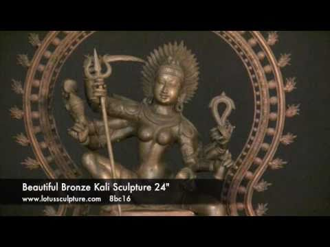 Bronze Statue of the Hindu Goddess Kali