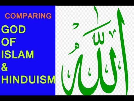 Concept of God in Islam and Hinduism, god Islam belief, God in Hindu