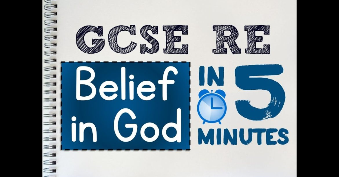 GCSE RS Unit 3.1 - Belief in God in 5 Minutes | by MrMcMillanREvis