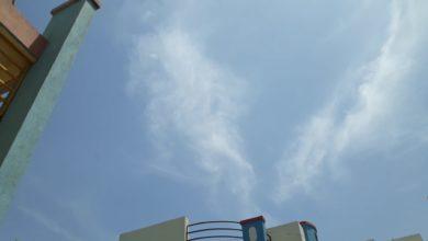 GOD VISHNU APPEARING IN SKY