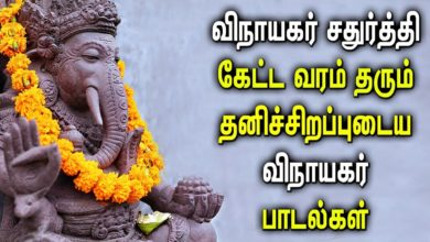 Ganesh Song For Extreme Knowledge | Vinayaka Chaturthi Padalgal | Best Ganapathi Devotional Songs
