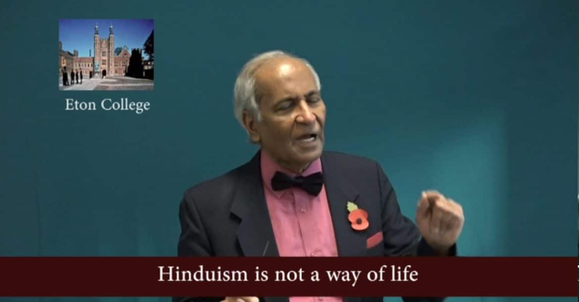 Hinduism is not a way of life