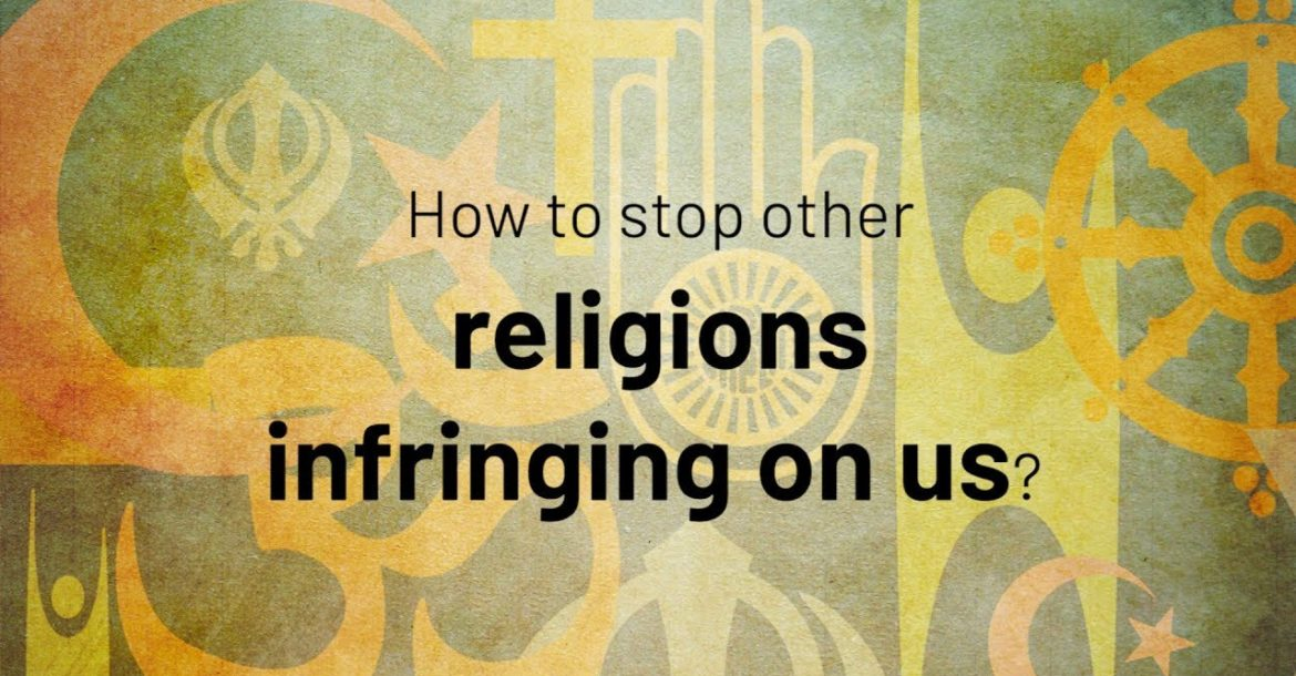 How to stop other religions infringing on us?| Jay Lakhani | Hindu Academy
