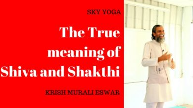 The True meaning of Shiva and Shakthi