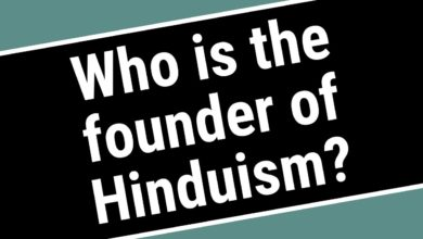 Who is the founder of Hinduism?
