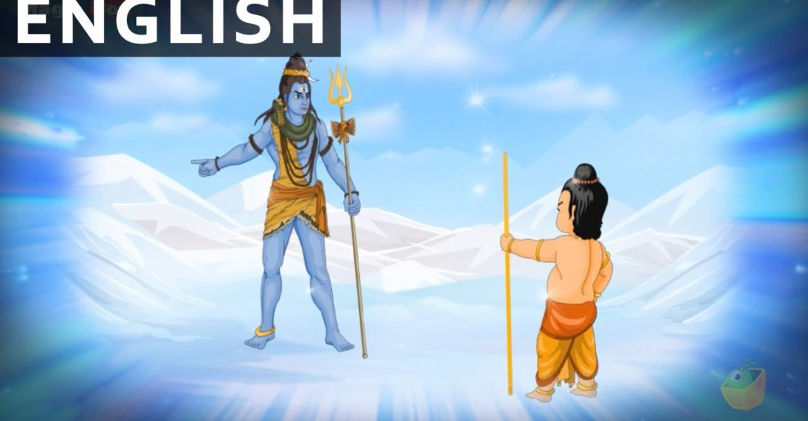 Birth Of Ganesha - Ganesha In English - Animated / Cartoon Stories For Kids