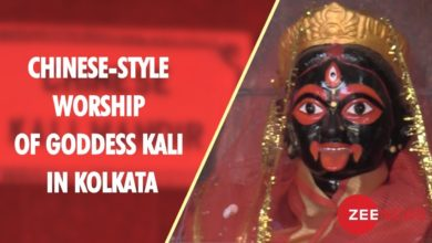 Chinese-style worship of Goddess Kali in Kolkata