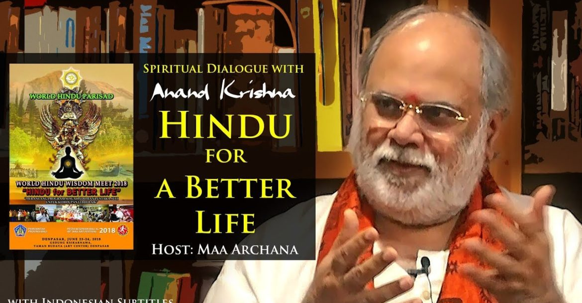Hindu for a Better Life | Anand Krishna (with Indonesian Subtitles)